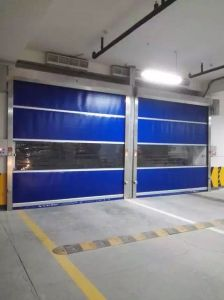 Fast PVC Roller Shutter Door Interior Rapid Door pictures & photos