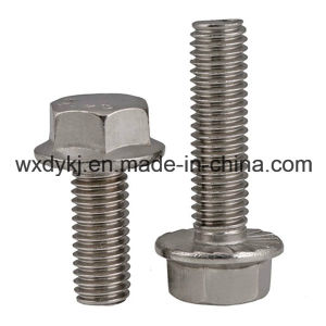 Hex Washer Head DIN 6921 Stainless Steel Fastener pictures & photos