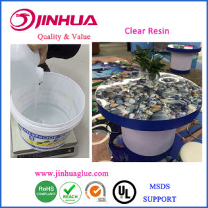 Clear Resin for Table Top/Counter Top Coating pictures & photos