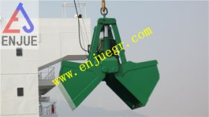 Electric Hydraulic Clamshell Bucket Remote Control Grab for Ship Crane pictures & photos