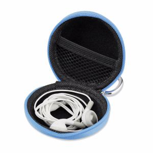 Top Selling Hard EVA Case, Camera Waterproof Case/Multicolor Earphone Headset Handsfree Hard EVA Case with Metal Hook pictures & photos