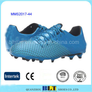 TPU Outsole Contoured Heel Cup Soccer Shoes Men pictures & photos