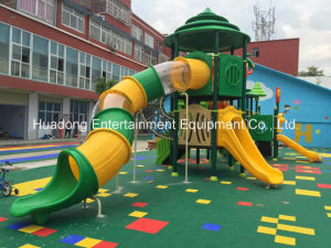 2016 Latest High-Quality Outdoor Playground Equipment Slide (HD16-029A) pictures & photos