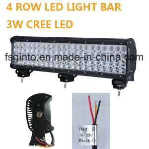 4 Rows Super Bright LED Light Bar 72W pictures & photos