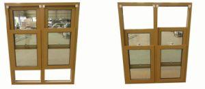UPVC Double Hung Sash Windows, Vinyl Hurricane Window pictures & photos