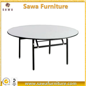 Factory Wholesale Folding Round Banquet Table pictures & photos