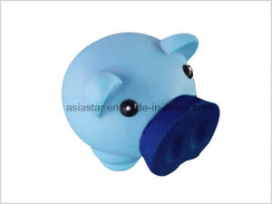 Plastic Vinyl Piggy Bank Saving Box pictures & photos