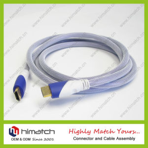 Colorized Nylon Cloth HDMI Cable pictures & photos