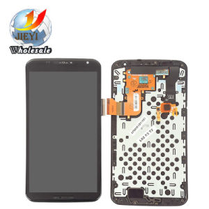 Mobile Phone LCD for Motorola Moto Nexus 6 Xt1100 Xt1103 LCD Display Touch Screen Digitizer&Frame pictures & photos