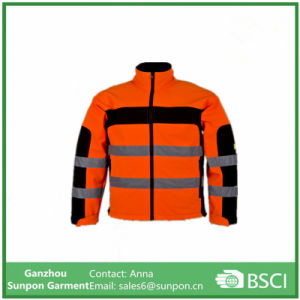 Reflective Winter Safety 3m Reflective Jacket Antiflame Workwear pictures & photos
