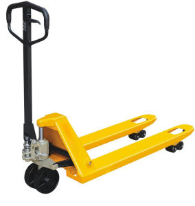 Wholesale 2.5ton Pallet Jack Hand Pallet Truck pictures & photos