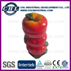 Promotional Apple Shape Custom Toothpick Holder with En71 Certification pictures & photos