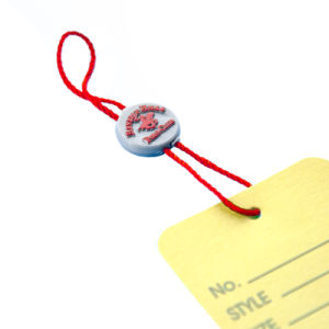 Plastic String Hang Tag Seal Tag for Garment (DL56-3) pictures & photos