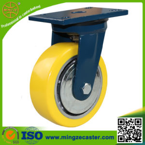 8inch High Quality Polyurethane Wheel Heavy Duty Caster pictures & photos