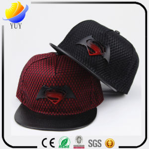 Europe Superman Logo Flat Hip-Hop Baseball Cap pictures & photos