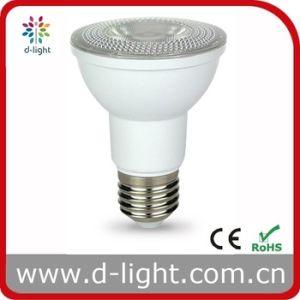 7W Plastic with Aluminum Insde E26 E27 B22 Spotlight PAR20 LED