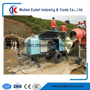Trailer Mounted Concrete Pump Hbt80sea pictures & photos