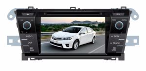 Wince 6.0 Quad Core Car DVD Player for Corolla 2014 with Bt 3G RDS TV iPod Support Mirror Link