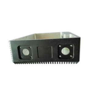 Black Anodized Color CNC Machining Aluminum Housing pictures & photos