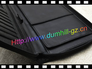 Zipper Leather Passport Travel Wallet pictures & photos