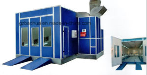 Diesel Heating System Car Paint Booth with Exhaust Fan pictures & photos