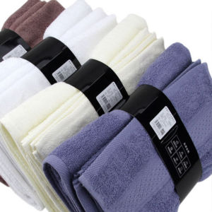 Carton Package for Gift Towel Set in Luxury 100%Cotton Towel pictures & photos