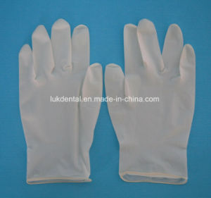 Dental Laboratory Latex Gloves with CE Certificate pictures & photos