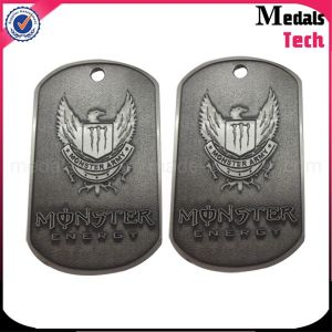Custom High Polished Metal Bottle Opener Dog Tag with Ball Chain pictures & photos