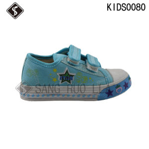 Children Sports Sneaker Canvas School Shoes pictures & photos