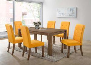 Solid Wood Dining Set (Targa 1+6 dining set) pictures & photos
