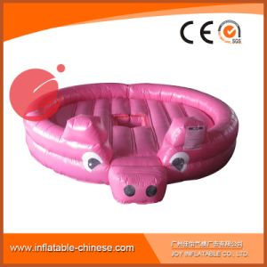 Inflatable Sports Games Interactive Pink Pig Mechanical Sport Games T7-109 pictures & photos
