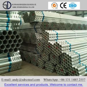 BS1387-1985 Hot DIP Galvanized Round Steel Pipe (Tube) pictures & photos