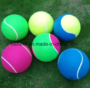 Indoor Outdoor Giant Logo Printed Tennis Ball pictures & photos
