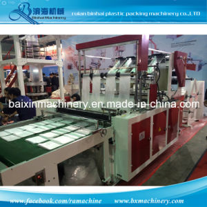 8 Lines Flat Bags Plastic Bag Making Machine pictures & photos