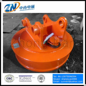 Dia-500mm Circular Round Lifting Magnet for 1t Excavator Emw-50L pictures & photos