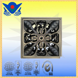 Xc-008 High Quality Brass Floor Drain pictures & photos