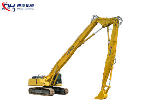 20m-30m Excavator Three Segment High Reach Boom for Demolition pictures & photos