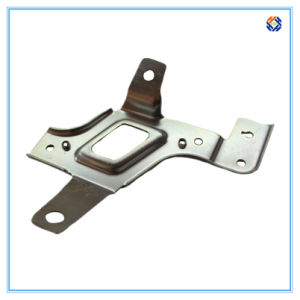 Bending Sheet Metal Stamping Angle Bracket with Nickel Plating Surface pictures & photos