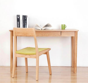 Sale Hot Ash Wood Study Desk Computer Table Study Room Simple Style Desk (M-X2011) pictures & photos