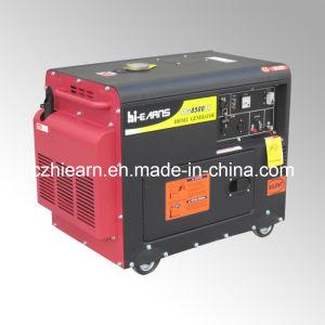 6kw Portable Silent Diesel Engine Power Generator Set (DG8500SE) pictures & photos
