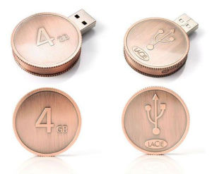 Dollar Coin USB Flash Drive with Full Capacity pictures & photos