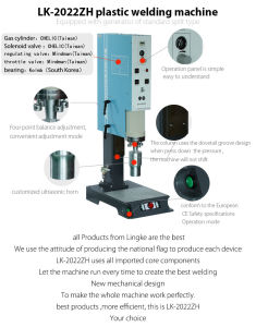 Compact Ultrasonic Plastic Welding Machine pictures & photos