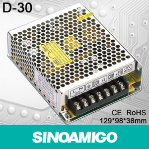 30W Dual Output Switching Power Supply (D-30)