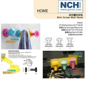 Household Novelty Items Mini Screw Wall Hook