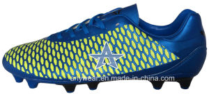 Men′s Soccer Football Boots with TPU Outsole Shoes (815-9639) pictures & photos