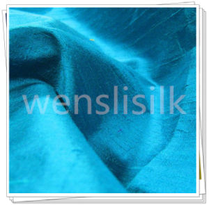 Dupioni Silk Fabric (wenslisilk14071S11) pictures & photos