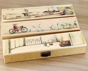Wholesale Pure Children Wooden Pencil Cases pictures & photos