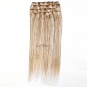 Clip in Hair Extension 5A Grade Brazilian Hair pictures & photos
