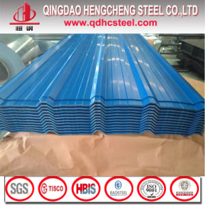 Color Zinc Coated Corrugated Steel Roofing Tile pictures & photos