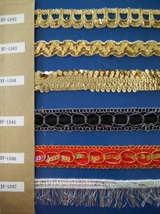 Low Price Lace Trim for Hoem Textile pictures & photos